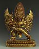 Rare and Exquisite Gilt Bronze Figure of Hayagriva