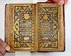 Highly Illuminated Arabic Islamic Manuscript Koran.