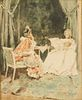 Mariano Fortuny Spanish Watercolor Painting 1870