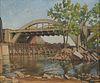 Arthur Allie St. Paul Painting on Board