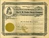 AN ENGRAVED C.W. PARKER SHOWS CO. STOCK CERTIFICATE