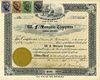 A 1908 W.F. MANGELS CO. STOCK CERTIFICATE