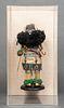 Zuni or Hopi Sip-ikne Warrior Kachina Figure