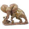 V. Ngwenya (Zimbabwe) Carved Verdite Elephant