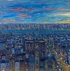 Bruno Stern Zupan (American, b. 1939) Untitled (City Panorama)