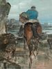 Edmund Blampied(British, 1886-1966)Farmer Fisherman, Jersey