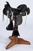 Child's Lone Ranger leather saddle