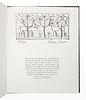 [FINE PRESS & LIVRE D'ARTISTE]. -- BROWN, Roger (1941-1997). Roger Brown Sketchbook 1982. New York: Styria Studios, 1983.