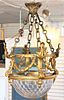 Rare 19th C. French Baccarat Glass Chandelier
