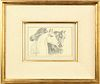 Ila McAfee (1897-1995) American/New Mexico, Pencil