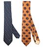 (2) Vintage Gucci Men's Ties