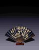 A Rare and Fine Imperial Folding Fan Length overall 25 x height 14 5/8 in., 63.5 x 47.3 cm.