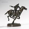 Harry Jackson (American, 1924-2011)      Pony Express (First Study)
