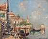 Arthur Vidal Diehl (American, 1870-1929)      Two Mediterranean Views