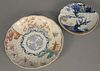 """Group of twenty-four Chinese porcelain plates to include set of twelve luncheon, 8 1/2"""" dia. and twelve bread plates, 6 1/2"""" dia. Estate of Marilyn Wa"""
