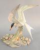"""Boehm """"Common Tern"""" porcelain sculpture #407, ht. 14 1/2""""."""