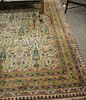 "Oriental carpet, 7' 8"" x 14' 10""."