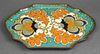 Holland Gouda Dutch Art Pottery Platter / Tray
