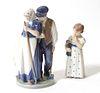 Royal Copenhagen Porcelain Figures, 2