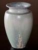 Pisgah Forest Crystalline Vase c1920s