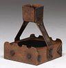 Charles Rohlfs Hammered Copper Cigar Ashtray c1910