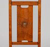 Gustav Stickley - Harvey Ellis Inlaid Maple Side Chair