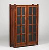 Stickley Brothers Two-Door Bookcase 1910