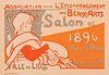 Emile Berchmans 1896 Lithograph