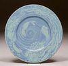 Cowan Pottery Thelma Frazier Sea Plate c1930