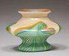 Union Glass Co Kew Blas Miniature Vase c1910