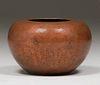 Jauchens Olde Copper Shop Hammered Copper Vase c1915
