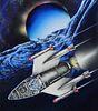 "Chris Calle (B. 1961) ""Space Men Rendezvous"""