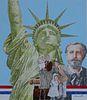 "Chris Calle (B. 1961) ""Ellis Island"""