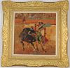 Spanish School Impressionist Painting of a Matador