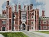 Ronald Maddox (B. 1930) Hampton Court Palace W/C