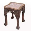 Qing Dynasty, Highly Carved Chinese Table