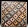 Large Roman Stone Mosaic Quilt-like Patten