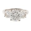 An Important 4.01 ct Diamond Ring in Platinum