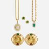 Group of diamond and gem-set jewelry