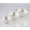 Nesting Bowls Sterling Silver Set of 3