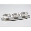 Small Bowl Long Tray Set Sterling Silver