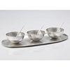 Small Bowl Long Tray Set Sterling Silver