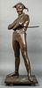 Rene de Saint-Marceaux Harlequin Bronze Sculpture