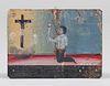 Mexican Retalbo Commemoration to Jesus Christ on the