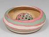Henry Graack Fort Ticonderoga Swirl Pottery Bowl &