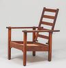 Stickley Brothers Open-Arm Morris Chair c1910