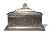 Anglo Indian Sterling Casket