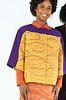 Gold and Purple Swirl Jacket