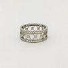Tiffany & Co Voile Platinum Diamond Ring