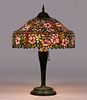 Large Unique – Brooklyn, NY Leaded Glass Lamp c1910